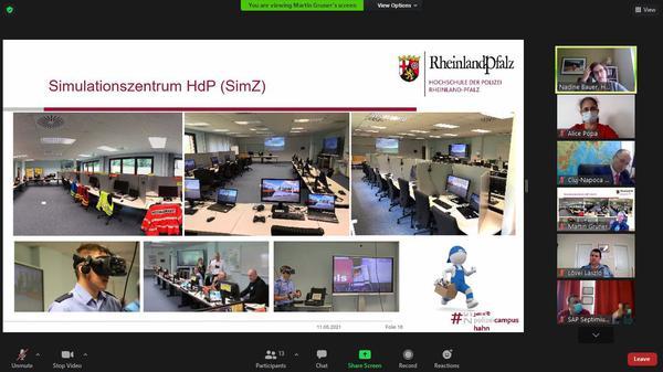 Întâlnire vizând Platforma Educațională TRIDENT